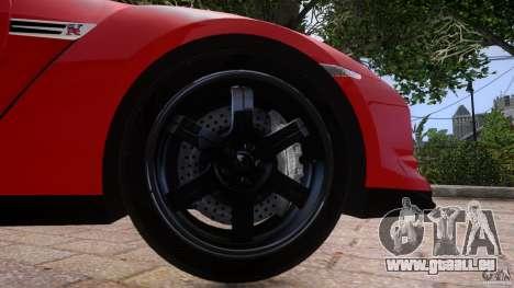 Nissan GTR R35 v1.0 für GTA 4 Seitenansicht