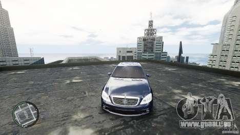 Mercedes-Benz S65 AMG für GTA 4 Innenansicht