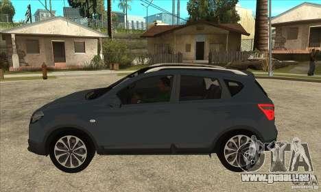 Nissan Qashqai 2011 für GTA San Andreas linke Ansicht