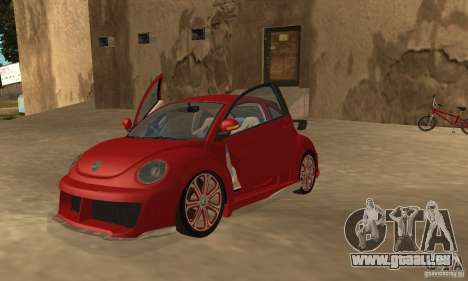Volkswagen Bettle Tuning für GTA San Andreas linke Ansicht