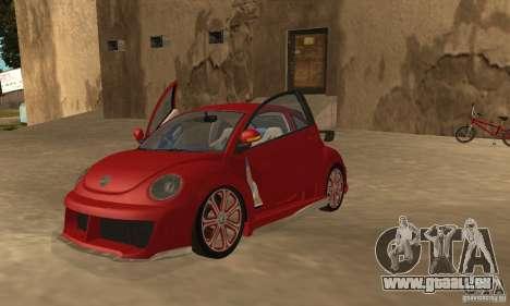 Volkswagen Bettle Tuning für GTA San Andreas linke Ansicht