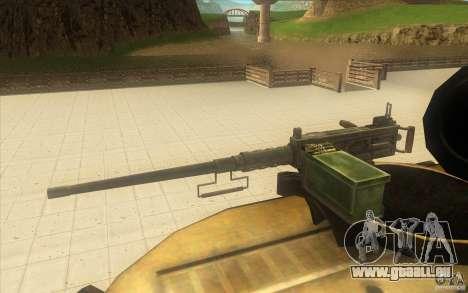 M-109 SELF-PROPELLED GUNS für GTA San Andreas rechten Ansicht