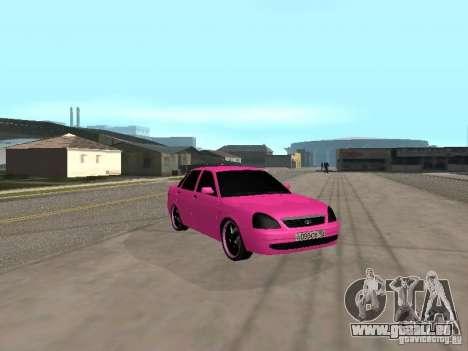 Lada Priora Emo pour GTA San Andreas vue de droite