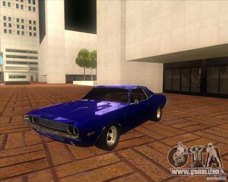 Dodge Challenger RT Hemi für GTA San Andreas