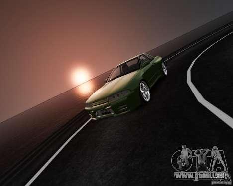 Nissan Skyline R32 GTS-t Veilside pour GTA 4 est une vue de l'intérieur