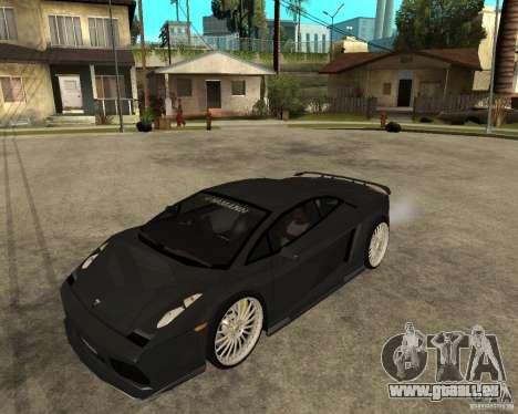 Lamborghini Gallardo HAMANN Tuning pour GTA San Andreas