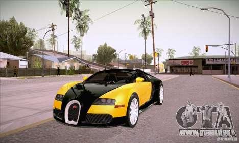 Bugatti Veyron 16.4 EB 2006 pour GTA San Andreas