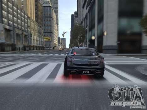 Ford Taurus FBI 2012 pour GTA 4 est un droit