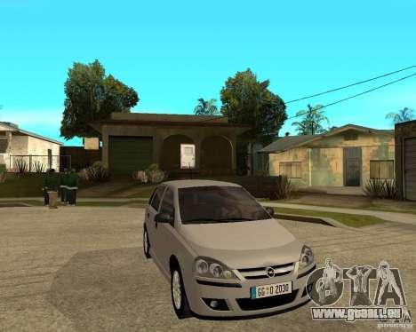 Opel Corsa C pour GTA San Andreas vue de droite