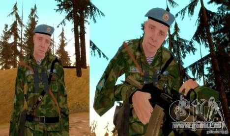 Combat aéroporté pour GTA San Andreas