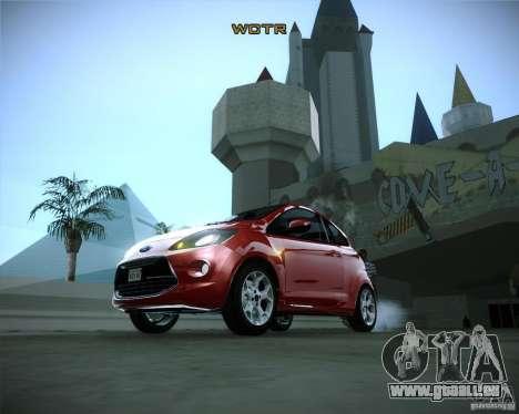 Ford Ka 2011 pour GTA San Andreas vue arrière