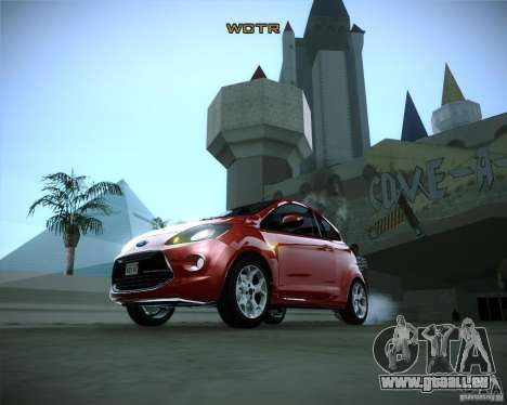 Ford Ka 2011 für GTA San Andreas Rückansicht