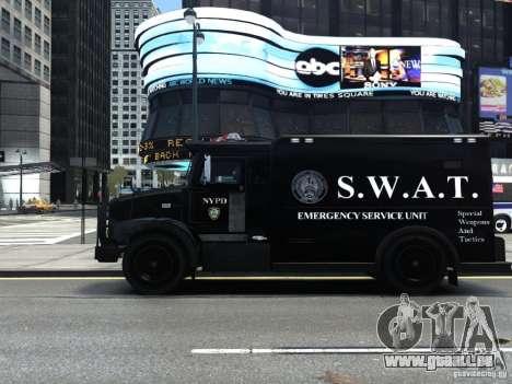 SWAT - NYPD Enforcer V1.1 für GTA 4 linke Ansicht