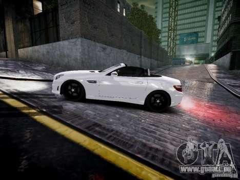 Mercedes SLK 2012 pour GTA 4 est une gauche