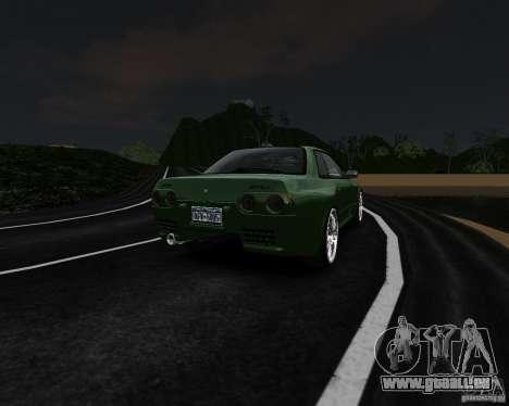 Nissan Skyline R32 GTS-t Veilside pour GTA 4 Vue arrière