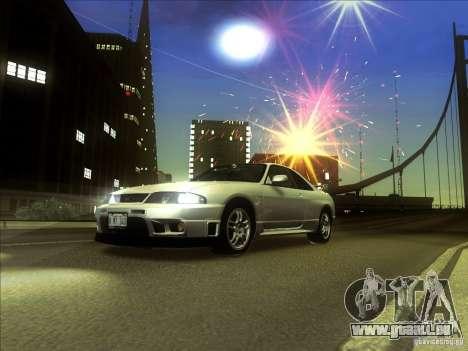 Nissan Skyline GTR BNR33 für GTA San Andreas linke Ansicht
