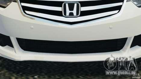 Honda Accord Type S 2008 für GTA 4 obere Ansicht