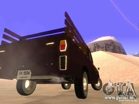 Mazda Familia 800 Pickup für GTA San Andreas zurück linke Ansicht
