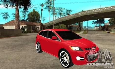 Mazda CX-7 pour GTA San Andreas vue intérieure