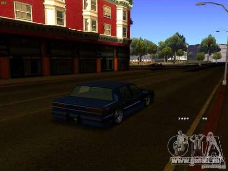 Willard Drift Style pour GTA San Andreas sur la vue arrière gauche