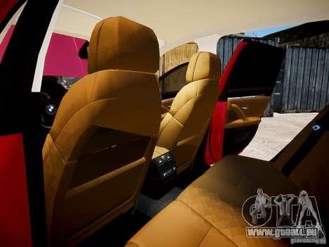 BMW 525i Touring pour GTA 4 est une vue de l'intérieur