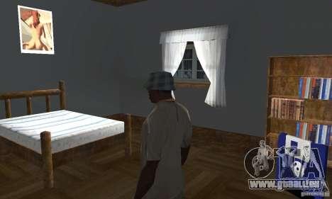 Maisons neuves à coffre intérieurs pour GTA San Andreas septième écran