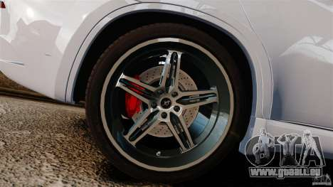 BMW X6 Hamann Evo22 no Carbon pour GTA 4 est une vue de l'intérieur