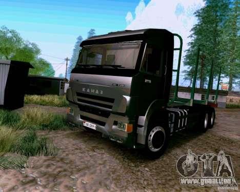 KAMAZ 65117 für GTA San Andreas
