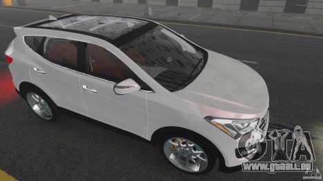 Hyundai Santa Fe Sport 2013 für GTA 4 Unteransicht