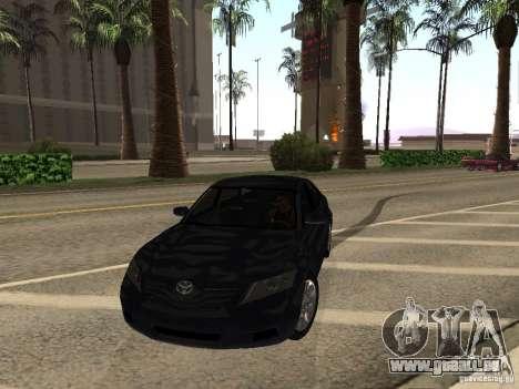 Toyota Camry 2010 pour GTA San Andreas vue arrière