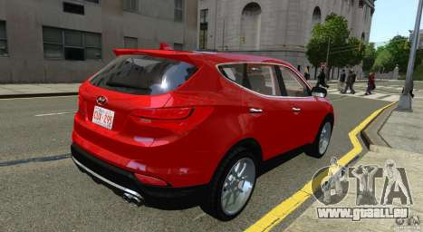 Hyundai Santa Fe Sport 2013 für GTA 4 hinten links Ansicht