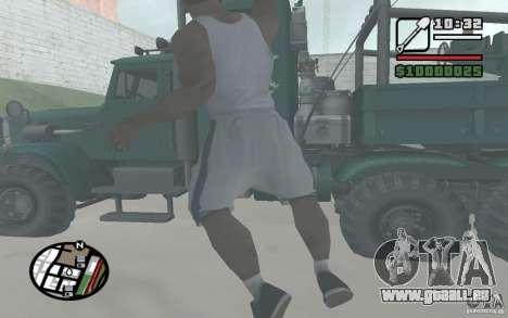 Jeter les pelles pour GTA San Andreas quatrième écran