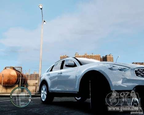 Infiniti FX50 für GTA 4 rechte Ansicht