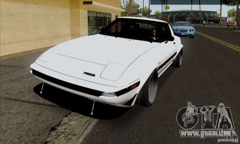 Mazda RX-7 FB Race für GTA San Andreas