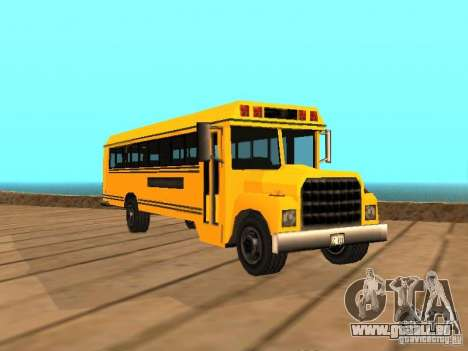 School bus pour GTA San Andreas