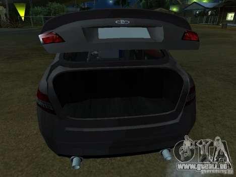 Toyota Camry pour GTA San Andreas vue arrière