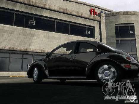 Volkswagen Beetle pour GTA 4 Vue arrière de la gauche