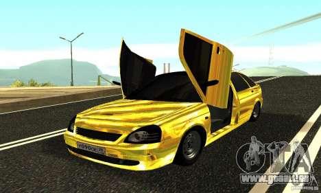 Lada Priora Gold pour GTA San Andreas