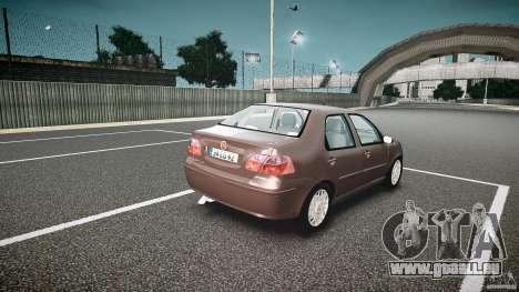 Fiat Albea Sole (Bug Fix) pour GTA 4 est une vue de l'intérieur