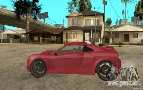 Mastretta MXT pour GTA San Andreas laissé vue