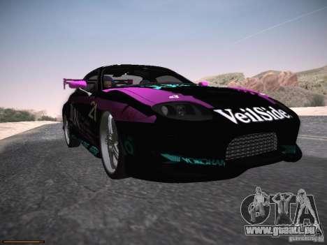 Mitsubishi FTO GP Veilside für GTA San Andreas Unteransicht