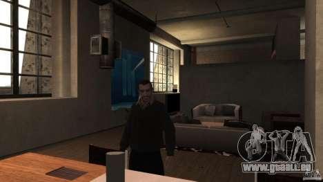 Maison chandail avec col pour GTA 4 troisième écran