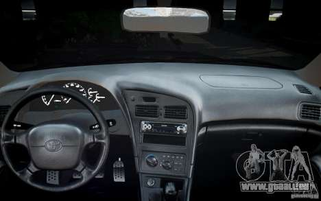 Toyota Celica GT-FOUR für GTA 4 Unteransicht