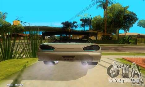 Elegy for the clan GSD pour GTA San Andreas sur la vue arrière gauche