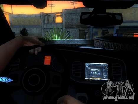Dodge Charger SRT8 Police für GTA San Andreas Seitenansicht