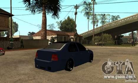 Volkswagen Bora pour GTA San Andreas vue de droite