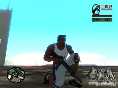Gangster Weapon Pack pour GTA San Andreas