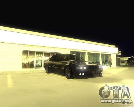 BMW 740i Update pour GTA San Andreas