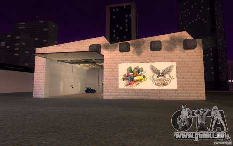 HQ Auto-Salon in San Fierro exklusive Autos für GTA San Andreas her Screenshot