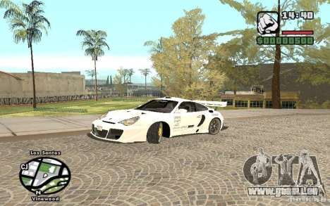 Porsche 911 Turbo S Tuned pour GTA San Andreas